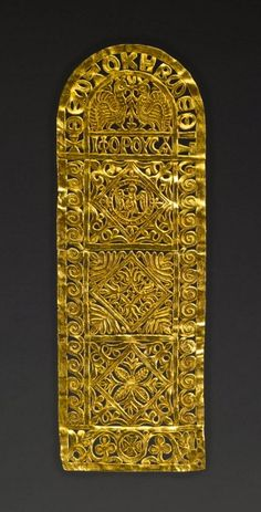 Dress Ornament    Byzantine, 6th-7th century AD    The Walters Art Museum