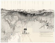 Mountains Mapped Cartography