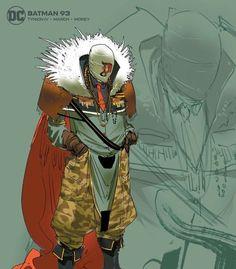 Batman #93 Character Design Variant - Jorge Jimenez