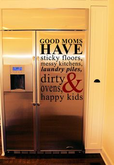 Good Moms Have Wall Decal from www.tradingphrases.com starting at $29.99   Love this!!