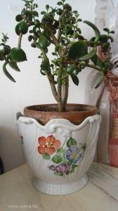 Herendi Tercia nagy méretű19+16cm kaspó Hungary, Planter Pots