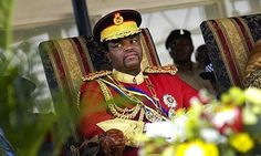 King Mswati III - The King of Swaziland and head of the Swazi Royal Family is considered Africa's last absolute monarch. He has held the throne for 24 years now, since the age of 18. - See more at: http://madamenoire.com/109378/9-africans-who-define-royalty-wealth-and-power/2/#sthash.x95hAfAY.dpuf