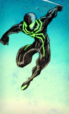 spiderman traje neon - Buscar con Google