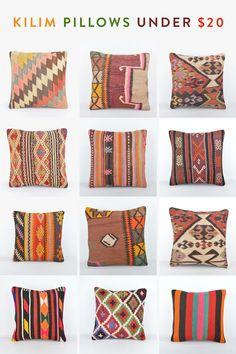 Kilim Pillows Under $20