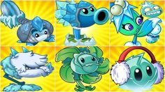ALL ICE MAX LEVEL POWER -UP vs GARGANTUAR FIGHT! in Plants vs. Zombies 2... Plant Zombie, Zombie 2, Fusion Card, Plants Vs Zombies, Pacific Rim, Pikachu, Birthday, Cards, Fictional Characters