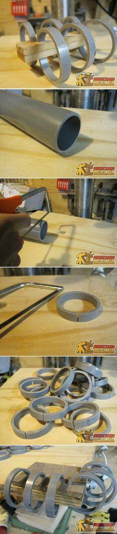 DIY PVC Pipe Clamp DIY Projects | UsefulDIY.com