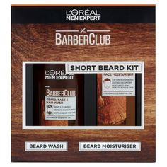 At L'Oreal Men Expert we embrace beards & moustaches of all shapes and sizes with L'Oreal Paris Men Expert BarberClub Short Beard 2 Piece Kit. Hair And Beard Styles, Short Hair Styles, Loreal Men Expert, Hair Barber, Loreal Hair, Beard Wash, Cedarwood Essential Oil, Short Beard