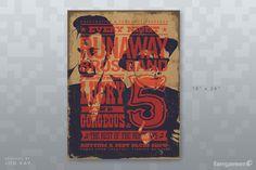 Fangamer - Runaway Show Poster
