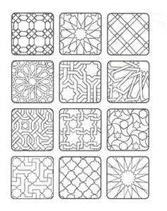 moorish mosaic and tile patterns