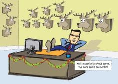 Accounting Bucks This Funny Accounting Christmas Card Is Sure To Bring A Smile