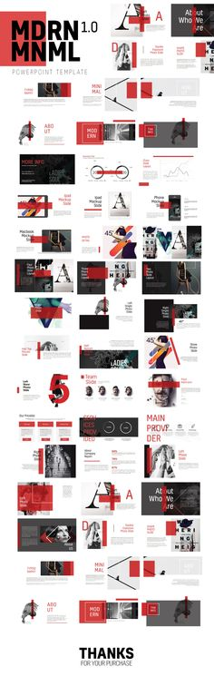 Mdrn Mnml Powerpoint Template Multipurpose - Creative PowerPoint Templates