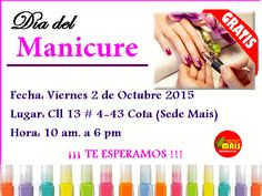 Acompáñanos y hazte el Manicure. Personal Care, Twitter, October 2, Events, Personal Hygiene