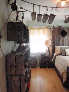 """""""Indiana Jones"""" boy's bedroom"""