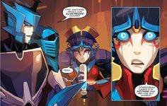 Starscream cares only about himself? Surprise surprise