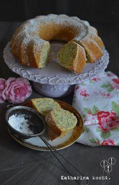 Zitronen-Mohn-Kuchen auf www.katharinakocht.com