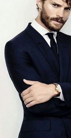 Jamie Dornan for Ermenegildo Zegna S/S 2014 Shoot