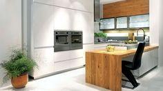 Moderní kuchyně Pure se stříbřitou keramickou deskou|Sýkora.eu