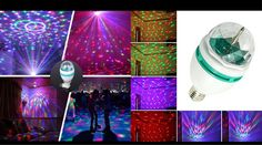 Party Light Bulb, Rotating LED Strobe Bulb Multi Changing Color $3.49 REG $19.99 - http://supersavingsman.com/party-light-bulb-rotating-led-strobe-bulb-multi-changing-color-3-49-reg-19-99/
