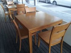 SOLID TIMBER DINING TABLE WITH 4 CHAIRS   Dining Tables   Gumtree Australia  Caboolture Area  Country style dining table   chairs   Dining Tables   Gumtree  . Dining Table Chairs Australia. Home Design Ideas