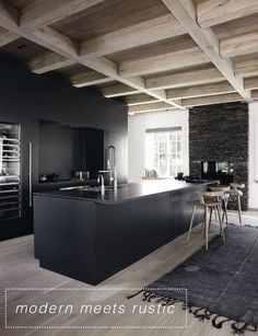 Cuisine noire French By Design