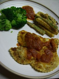 [ Baked (Breaded) Ravioli ]  &  [ Zucchini Fries ]  via Delicious Discoveries: September 2010