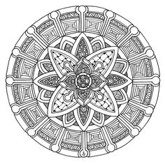 Mandala 29 June 2014 By Artwyrd Find This Pin And More On Coloring Pages