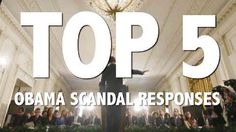 TOP 5 Obama scandal responses - This short video covers: 1) Secret Service scandal (prostitutes) -Pres. joins the fray, angry 2) GSA scandal (almost 1 mil $ spent on conference) Pres. shared our anger 3) Solyndra (535 mil $ loss on solar investment) Pres. defends decision 4) Fast and Furious (gun running to Mexico) Pres. blames it on Bush admin. 5) Benghazi (Ambassador and three others killed w/ no U.S. defense) Pres. defends S. Rice, attacks Republicans for bringing up the issue. (05/14/13)