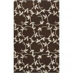 $154.99  Surya Rugs - Inspired Classics Chocolate Contemporary Rug - INS8003