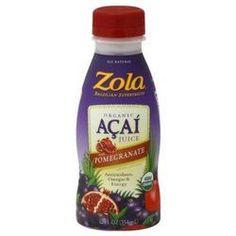 Zola Brazilian Fruits Og2 Pomegranate Acai Juice (12x12Oz)
