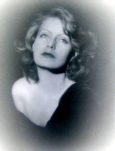 A stunning portrait of Greta Garbo.