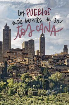 Los 10 pueblos más bonitos de la Toscana Vacation Places, Italy Vacation, Vacation Trips, Italy Travel, Italian Phrases For Travelers, Sorrento Italia, Travel Around The World, Around The Worlds, Verona
