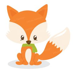 Cute Fox l SVG Cutting Files