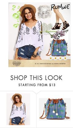 """""""Romwe 9"""" by aida-1999 ❤ liked on Polyvore featuring WithChic"""