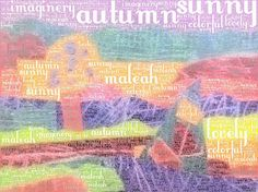 Splats, Scraps and Glue Blobs: iPad Art - Words and Landscapes - Manipulating Traditional Art with an iPad