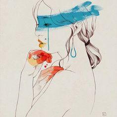 Illustrations by Conrad Roset | http://ineedaguide.blogspot.com/2015/04/conrad-roset.html | #illustrations #drawings