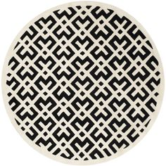 Handmade Moroccan Black Wool Rug | Overstock.com