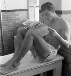 Young man, 1950s