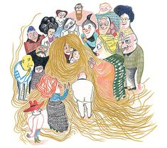 Illustration from 'Mère Méduse / Mother Medusa' by Kitty Crowther