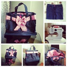 I did :)) bag DIY