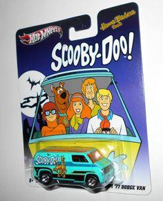 2011 Hot Wheels - Pop Culture - Hanna-Barbera Series, '77 Dodge Van, Scooby-Doo