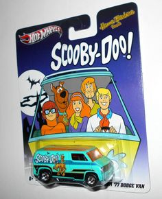 2011 Hot Wheels - Pop Culture - Hanna-Barbera Series, '77 Dodge Van, Scooby-Doo