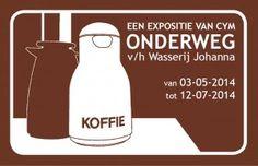 Een expositie van CYM - ONDERWEG - in expositieruimte v/h Wasserij Johanna in Woerden