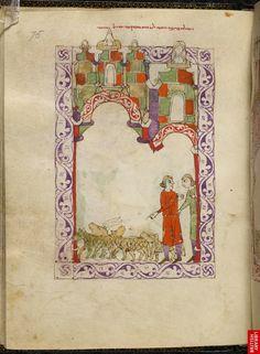 Hispano-Moresque Haggadah, Castile, Spain, c. 1300. BL Or. MS 2737