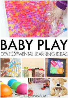 Baby play and learning ideas for babies 0-12 months.  This site also shares typical baby development and ideas.