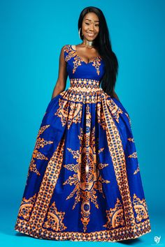 Trendy ideas on latest african fashion look 563 African American Fashion, African Print Fashion, Ethnic Fashion, Fashion Art, African Attire, African Wear, African Women, African Print Dresses, African Dress