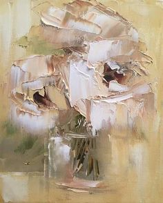 Shades of Sienna * Yvette Benecke SA Painter Acrylic Painting Flowers, Abstract Flowers, Acrylic Art, Art Flowers, Flower Canvas, Still Life Art, Art For Art Sake, Texture Painting, Beautiful Paintings