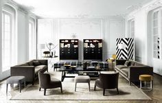 Sofa Dives -Maxalto - Design by Antonio Citterio