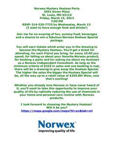 Burrfect Design Norwex Party Invite For Work Pinterest