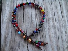 Multicolor Woven Bracelet by Love is a Seed by LoveisaSeed on Etsy, $6.00