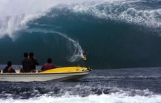 Photos: Surfers Ride Massive Waves at Teahupoo in Tahiti - SKYE on AOL